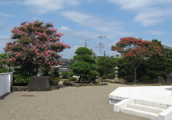 水戸大観音庭園1